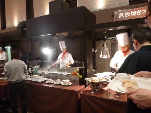 杉乃井ホテルバイキング ステーキ 口コミブログ