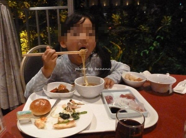 杉乃井ホテルバイキング会場子連れ家族旅行宿泊口コミブログ