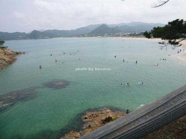 子供と行く鳥取海水浴