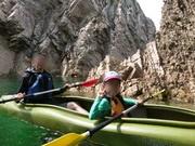 子供と一緒の鳥取旅行浦富海岸カヌー