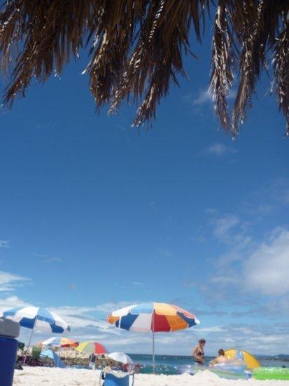 南紀白浜 白良浜海水浴場