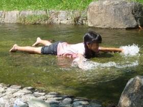 舞洲スポーツアイランド 水遊び