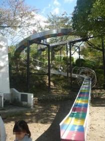 池田市立五月山公園 ローラー滑り台