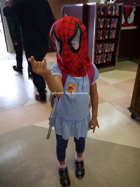 2015年6月平日のUSJ スパイダーマン
