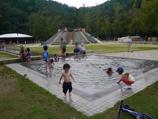 京都市宝ヶ池公園子どもの楽園 水遊び
