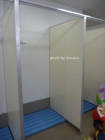 デカパトス 更衣室