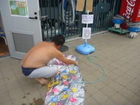 尼崎スポーツの森 アマラーゴ空気ポンプ