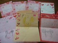東京ディズニーランド旅行 キャラクターへの手紙