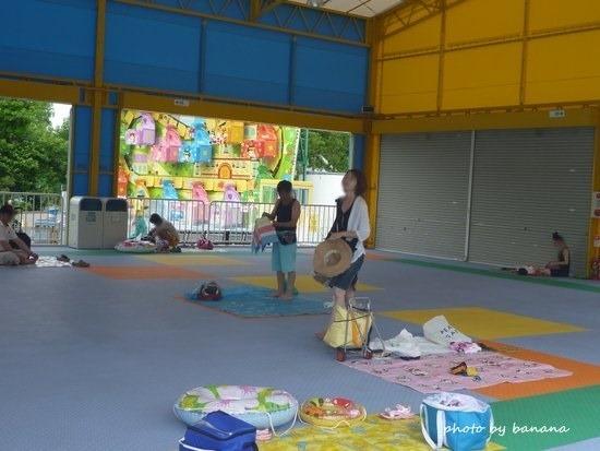 東条湖おもちゃ王国アカプルコ 休憩場所