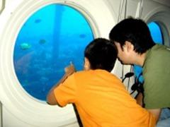 子連れグアム 潜水艦