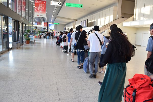 夏休み 伊丹空港 混雑