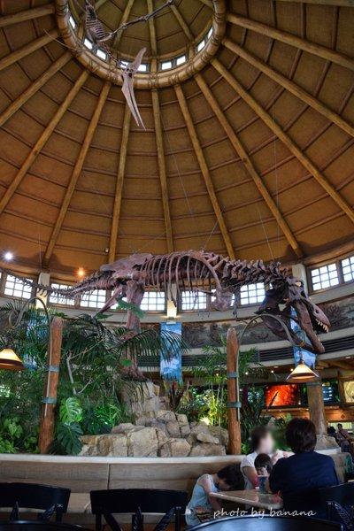 子供とUSJ 恐竜に会えるレストラン ディスカバリーレストラン