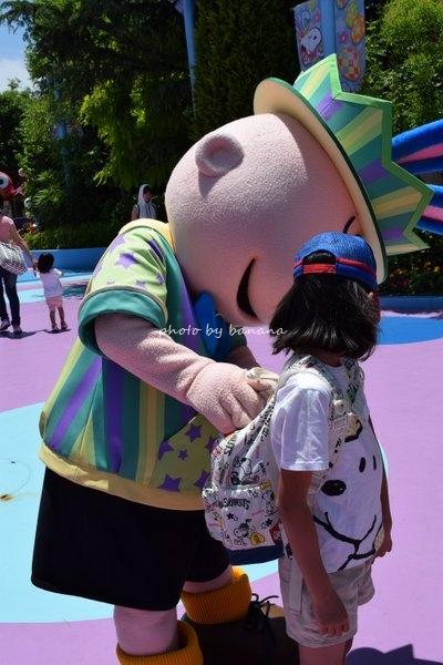 子供とUSJ スヌーピーに会える方法