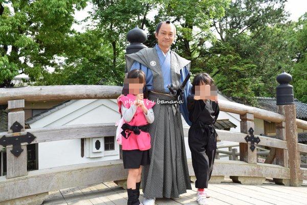 京都忍者になれる 東映太秦映画村 侍