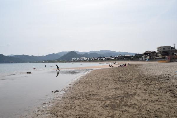 鳥取家族旅行・浦富海水浴場