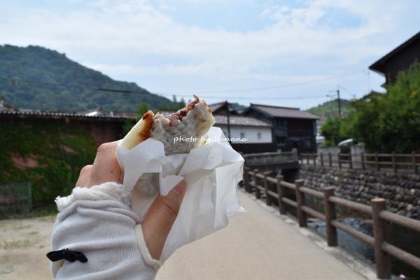 倉吉白壁土蔵群観光 米澤たい焼き店