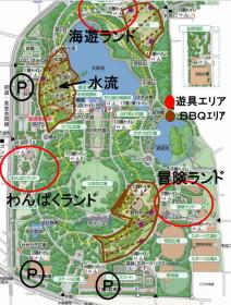 大泉緑地地図